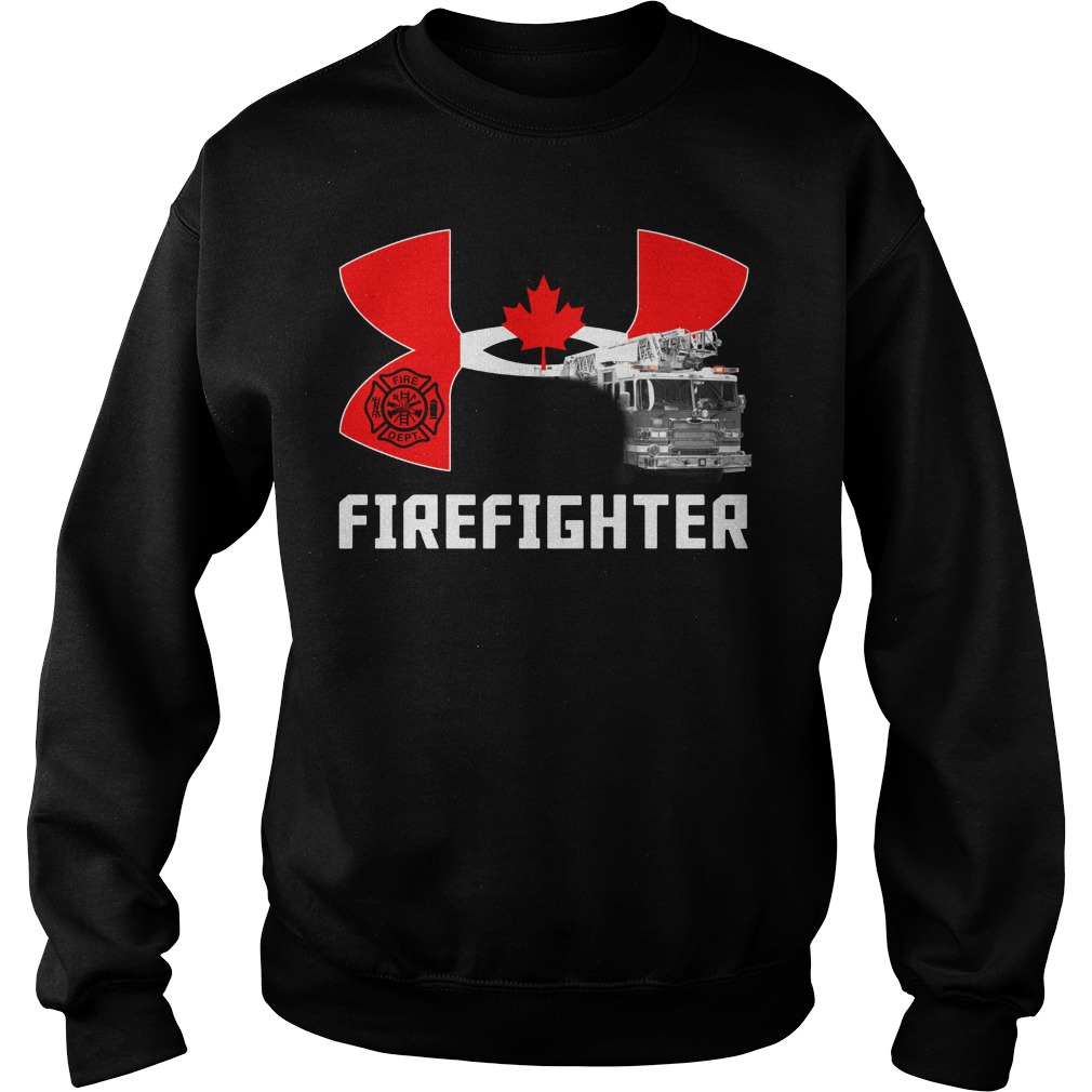 Canada under armour firefighter Sweater