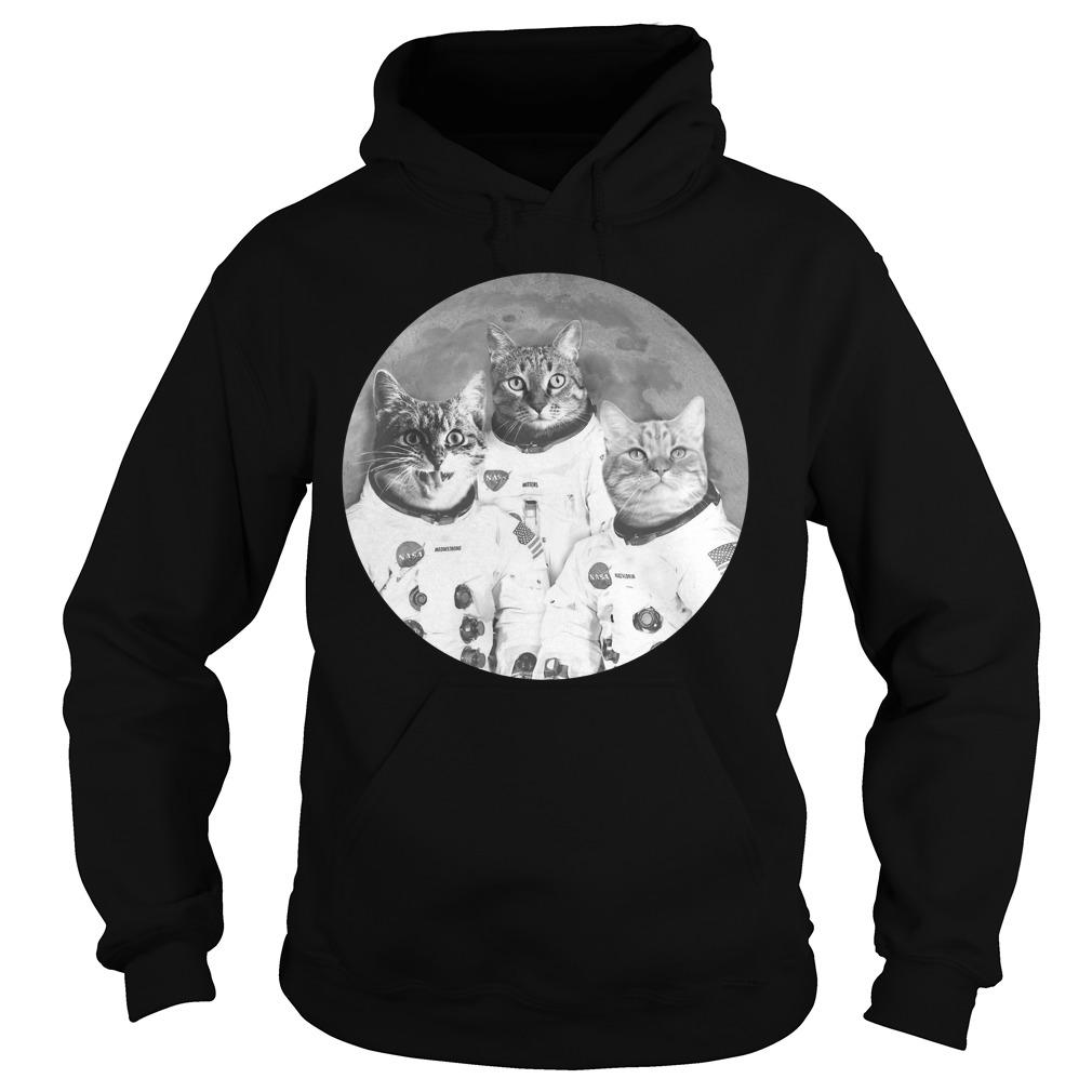 Catstronauts Astronaut Cats Hoodie