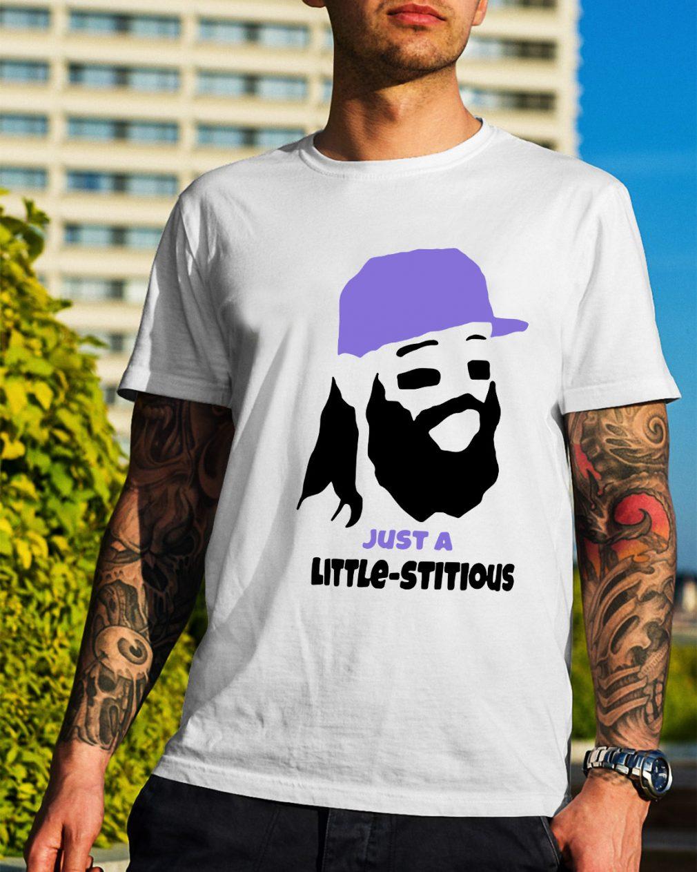 Charlie Blackmon just a little-stitious shirt