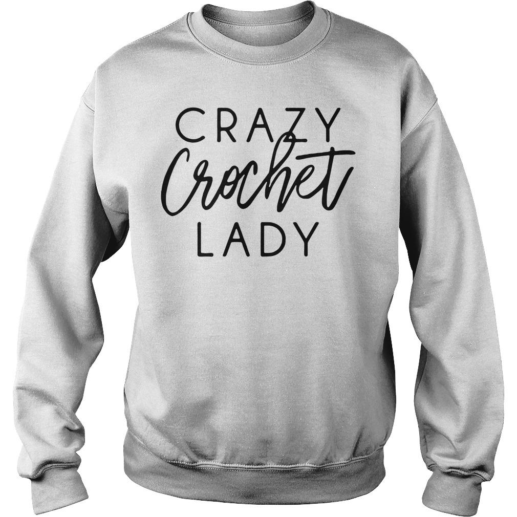 Crazy crochet lady Sweater
