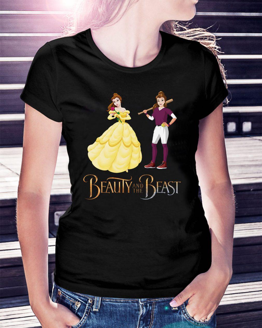 Disney Beauty and the Beast Belle tennis Ladies Tee