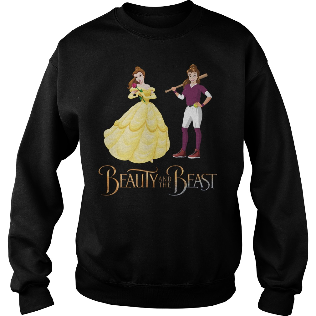 Disney Beauty and the Beast Belle tennis Sweater