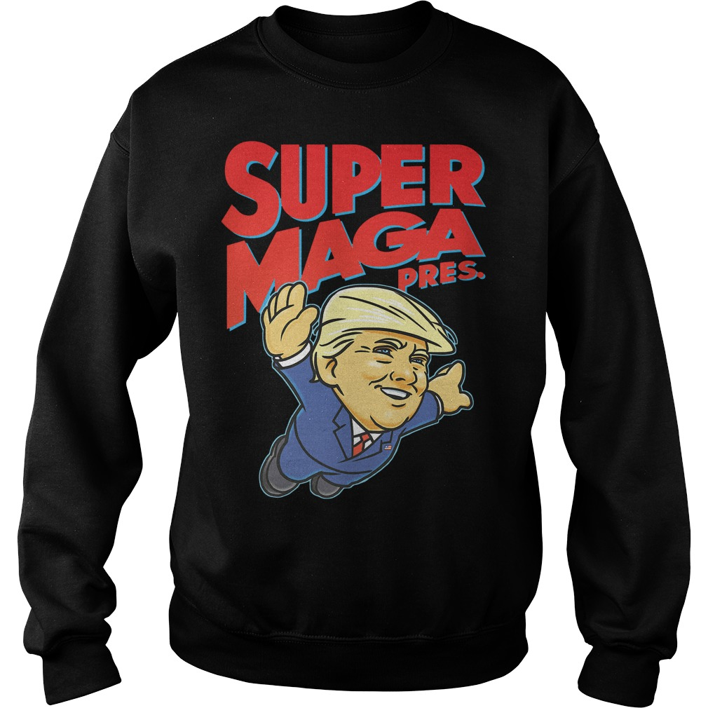 Donald Trump Super MAGA pres Sweater