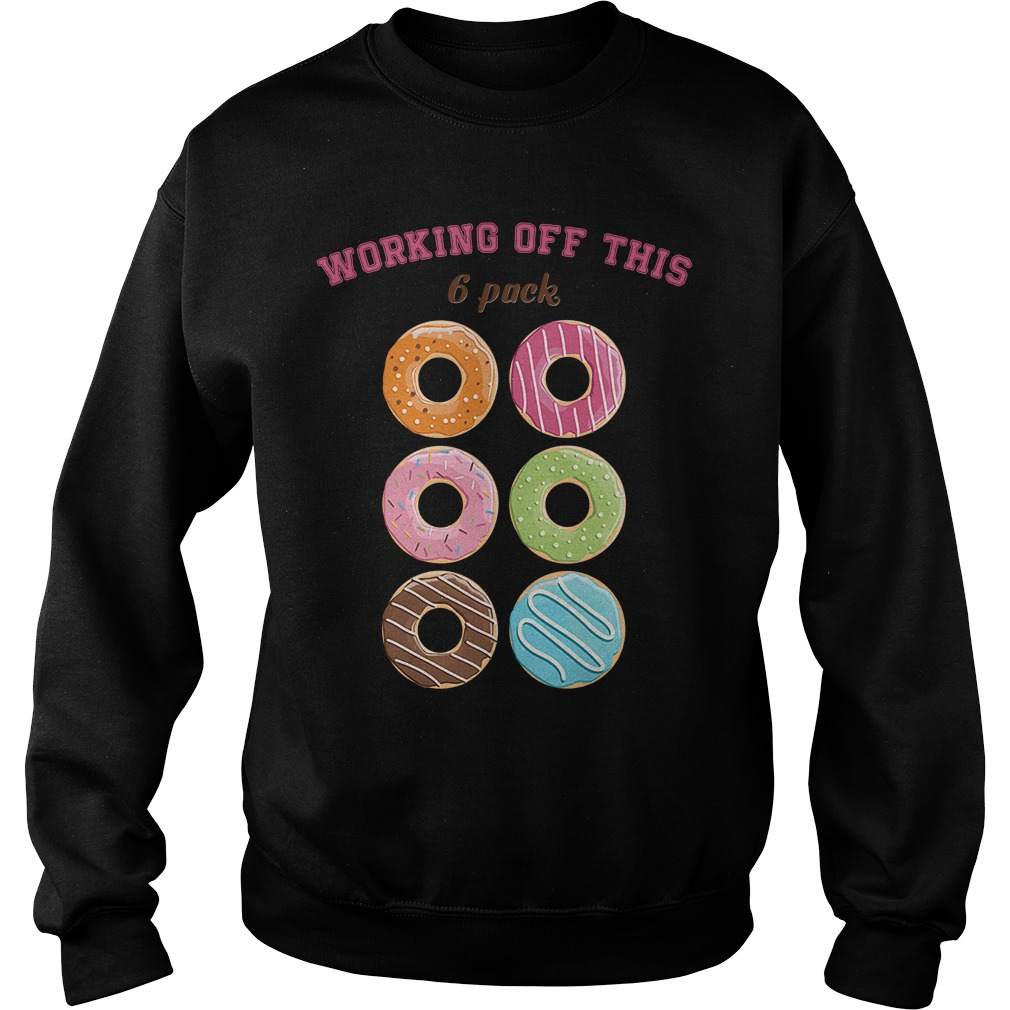Donut working off this 6 pack Sweater
