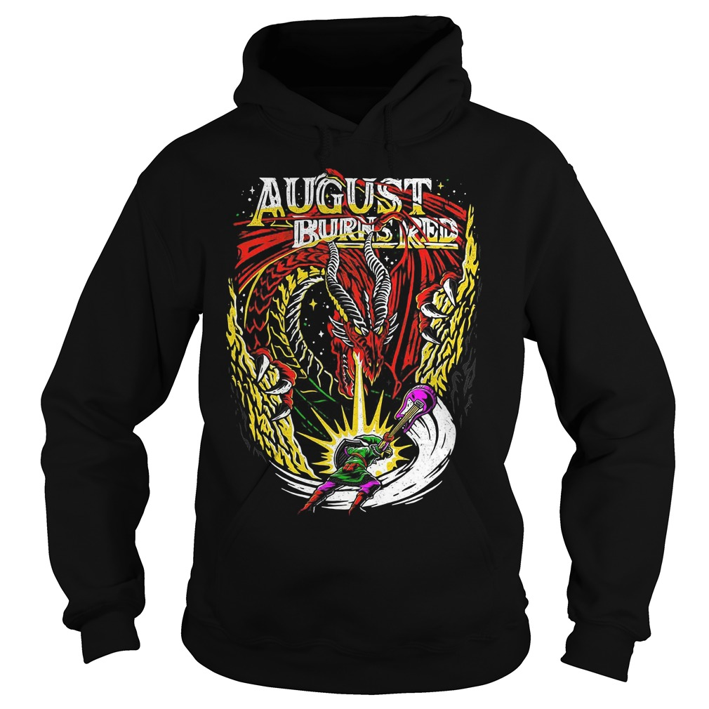 Dragon August burns red Hoodie