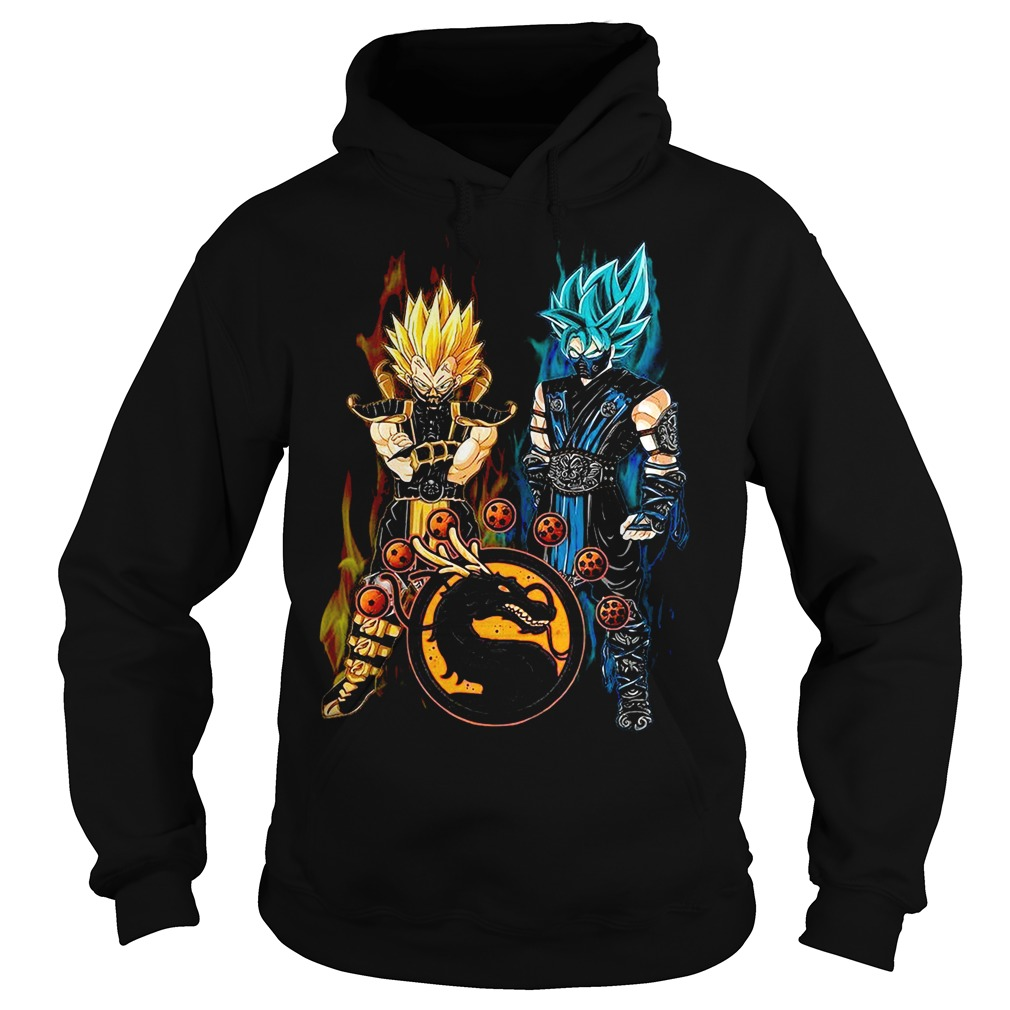 Dragon ball Son Goku and Vegeta mortal kombat Hoodie