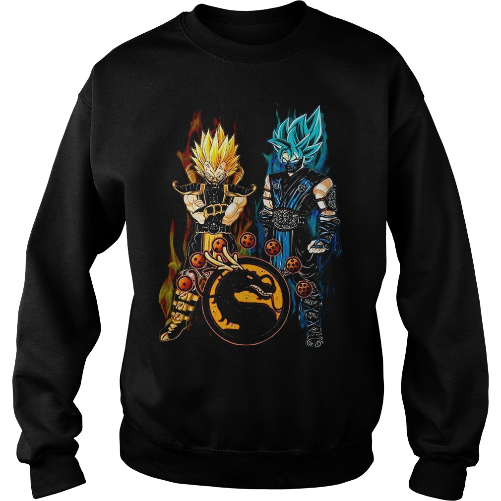 Dragon ball Son Goku and Vegeta mortal kombat Sweater