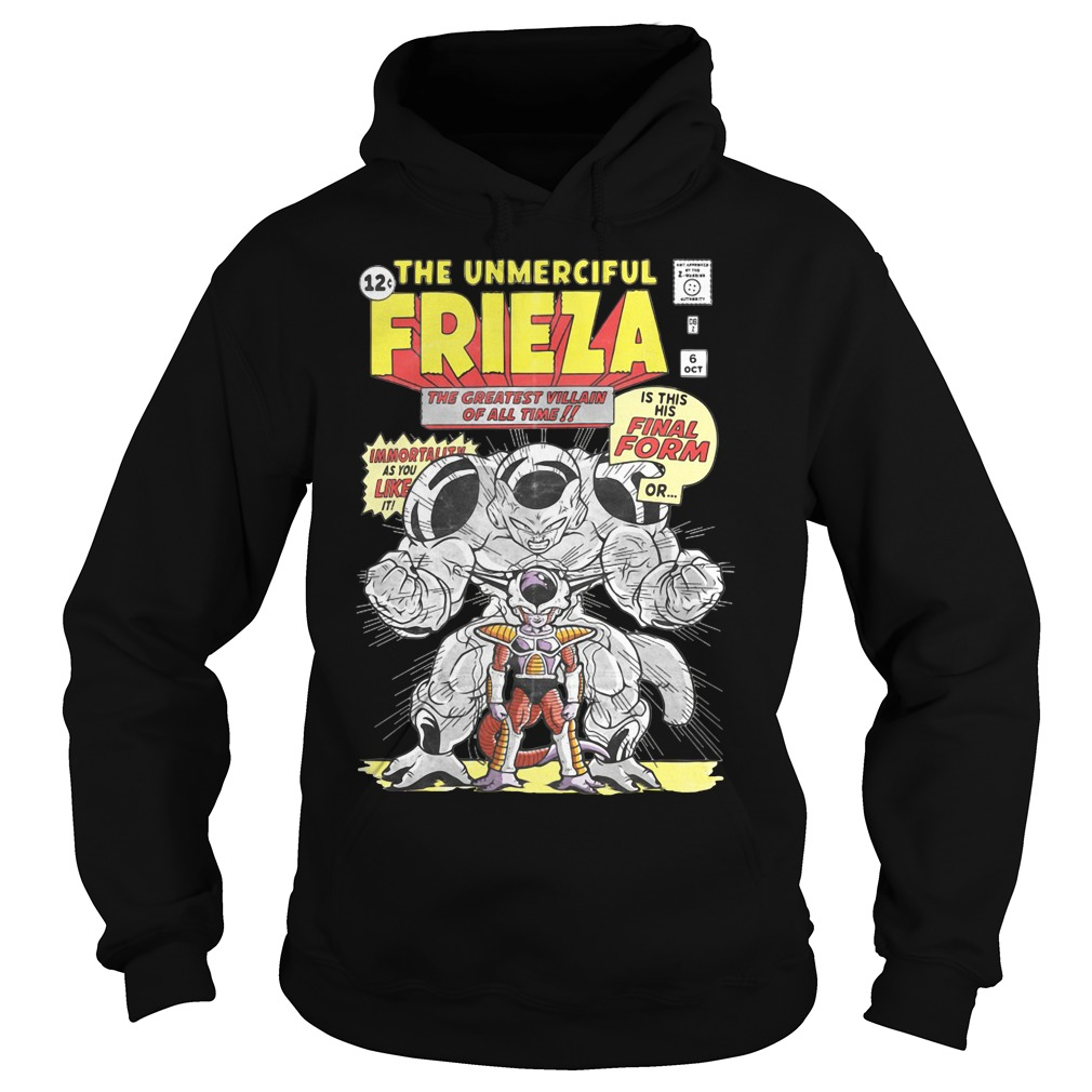 Dragon ball the unmerciful Frieza the greatest villain of all time Hoodie