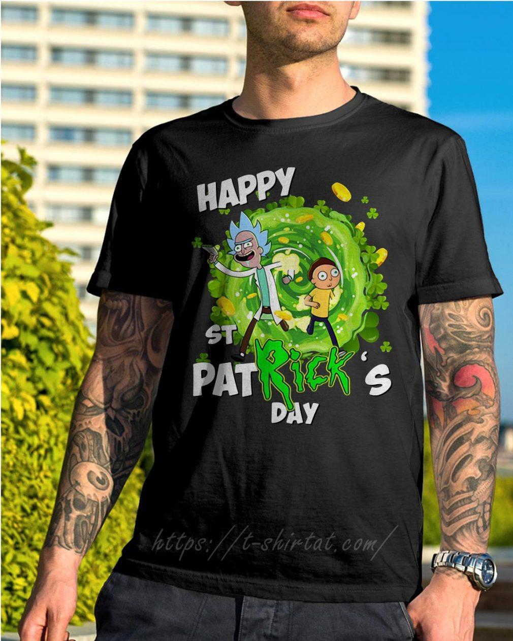 Happy St PatRick's day Rick Sanchez shirt