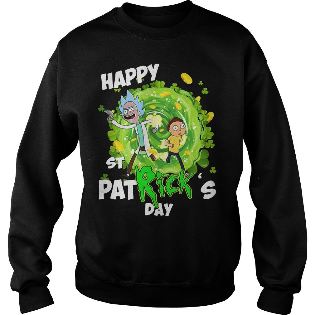 Happy St PatRick's day Rick Sanchez Sweater