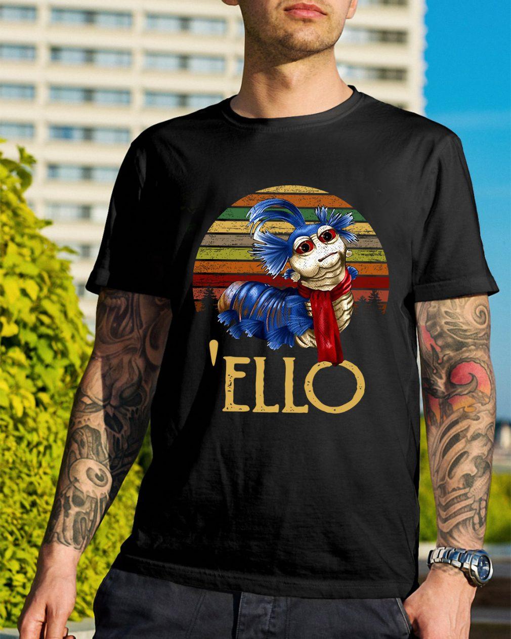 Labyrinth Ello worm vintage shirt