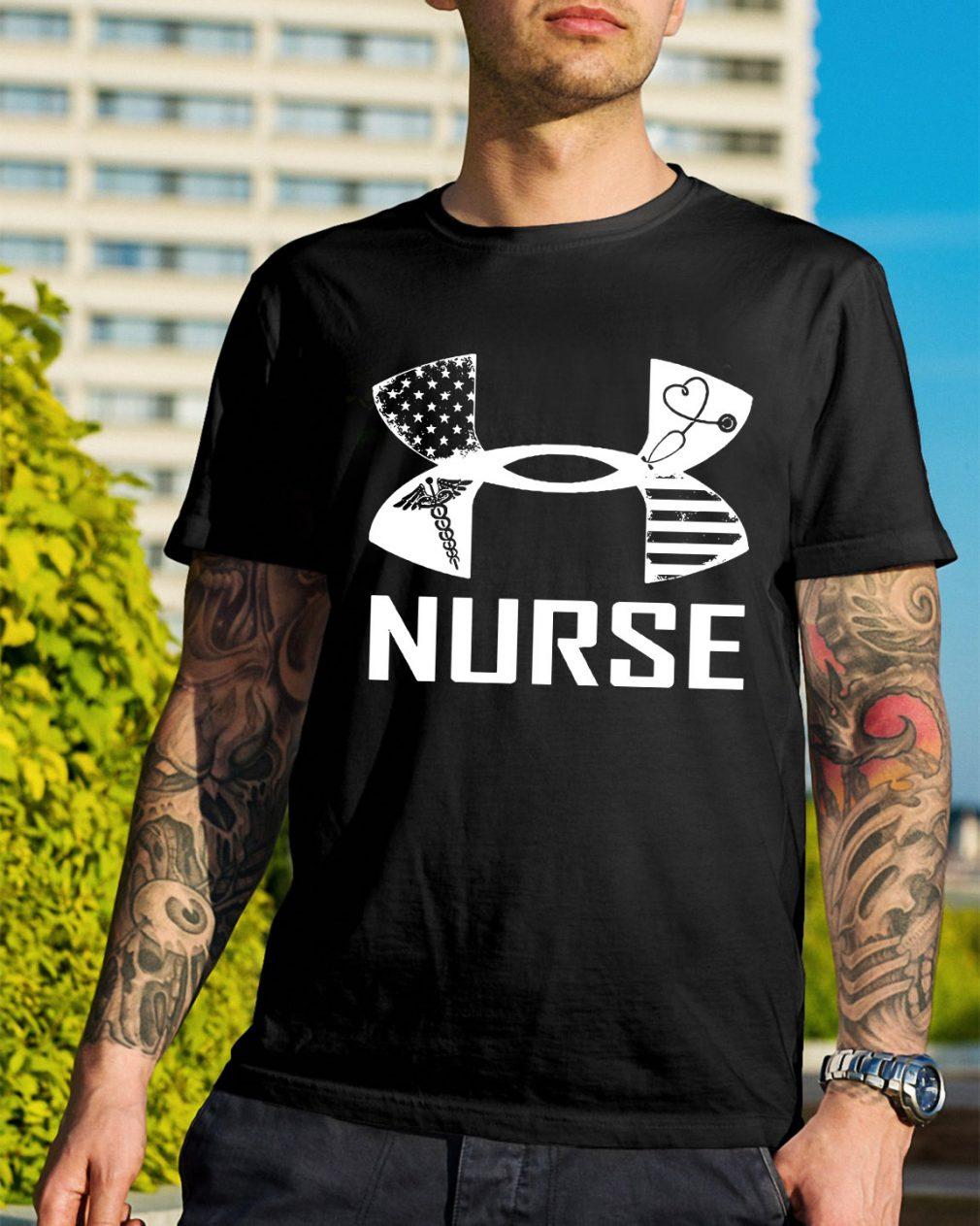 Nurse American under armour shirt