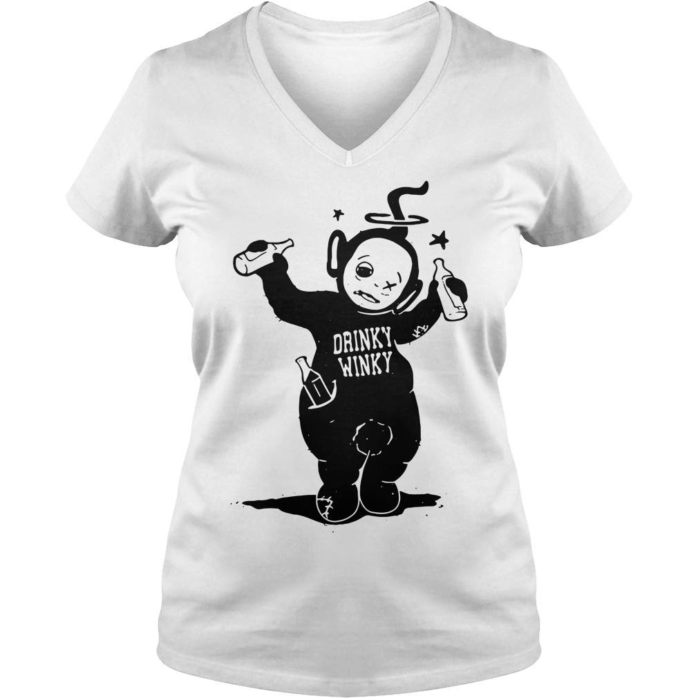 Official Drinky Winky V-neck T-shirt