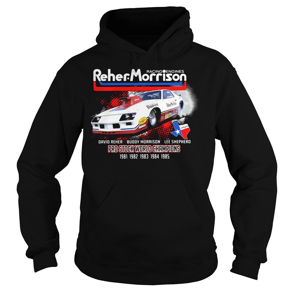 Racing engines Reher Morrison Devid Reher Buddy Morrison Hoodie