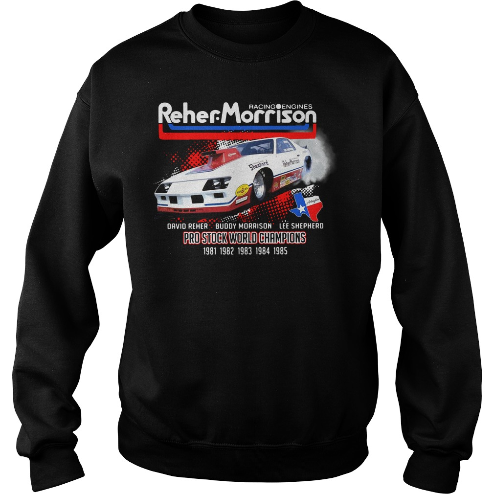 Racing engines Reher Morrison Devid Reher Buddy Morrison Sweater