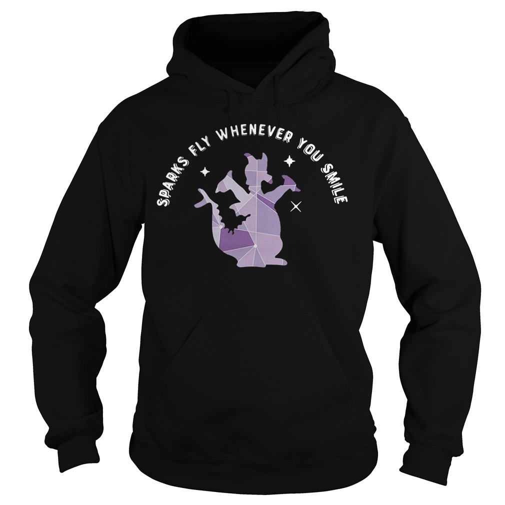 Saurus sparks fly whenever you smile Hoodie