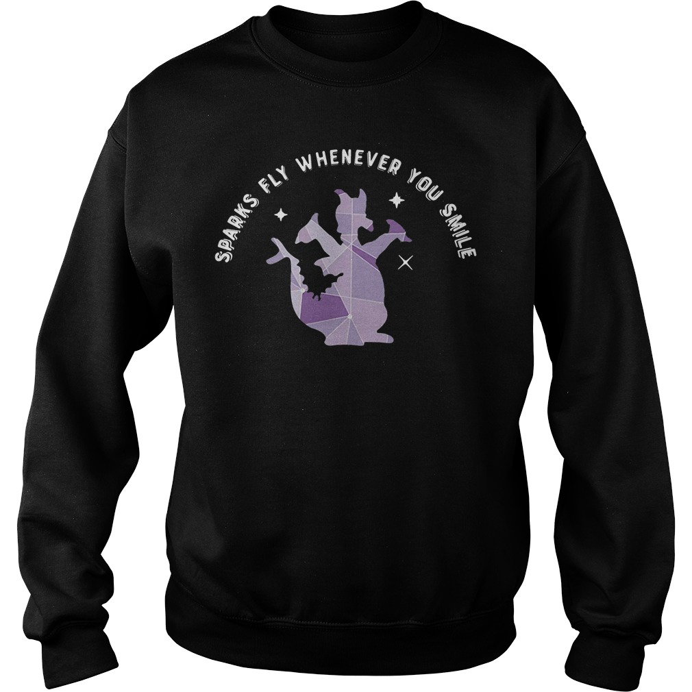 Saurus sparks fly whenever you smile Sweater