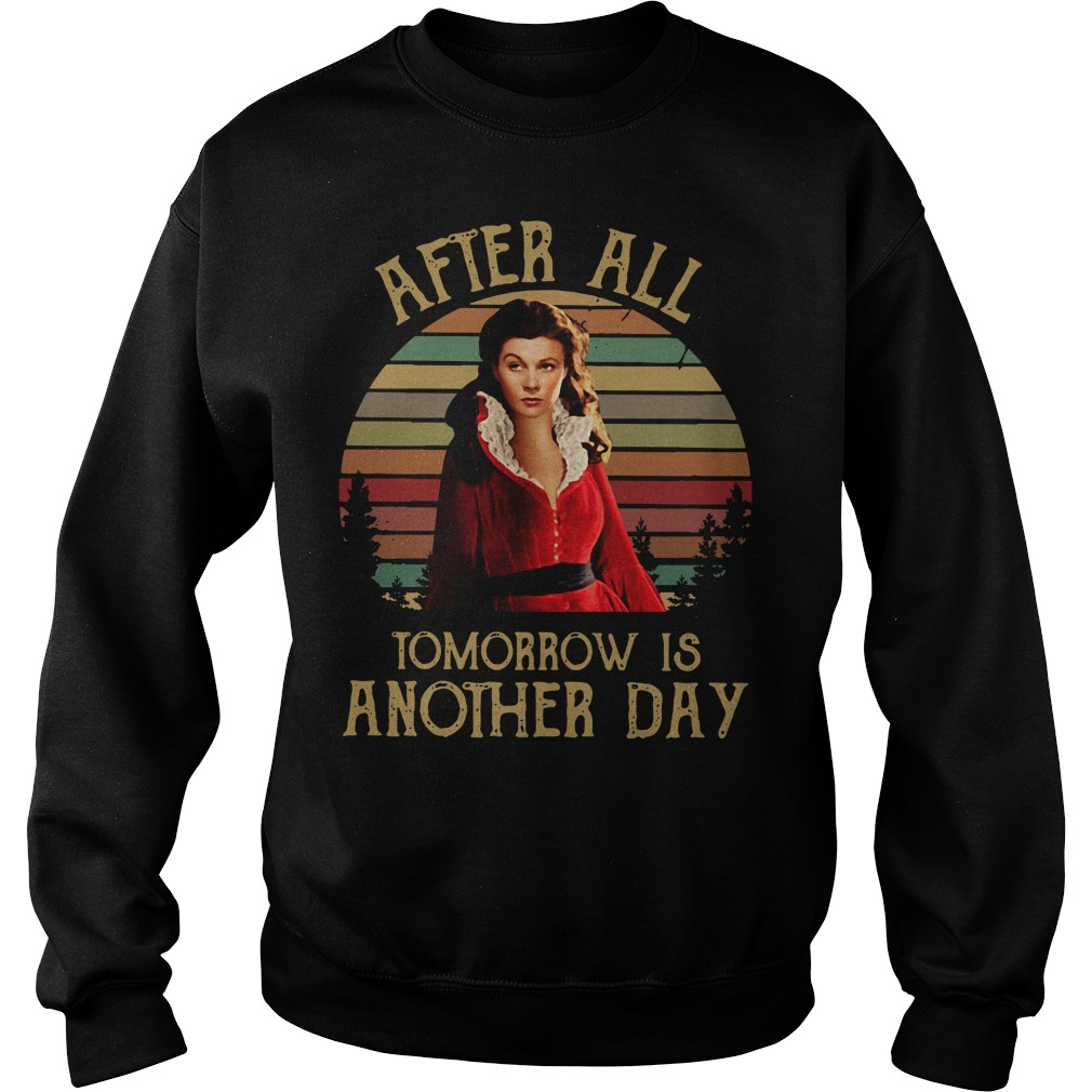 Scarlett O'Hara after all tomorrow is another day Sweater