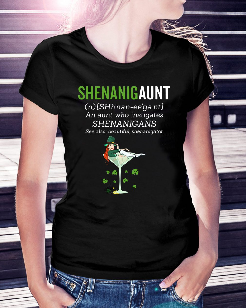Shenanigunt definition Ladies Tee