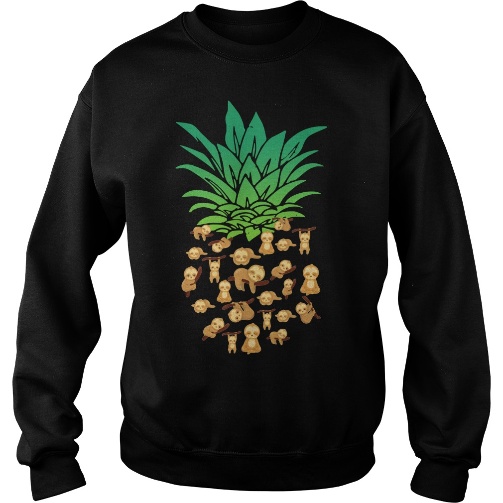 Sloths pineapple Sweater