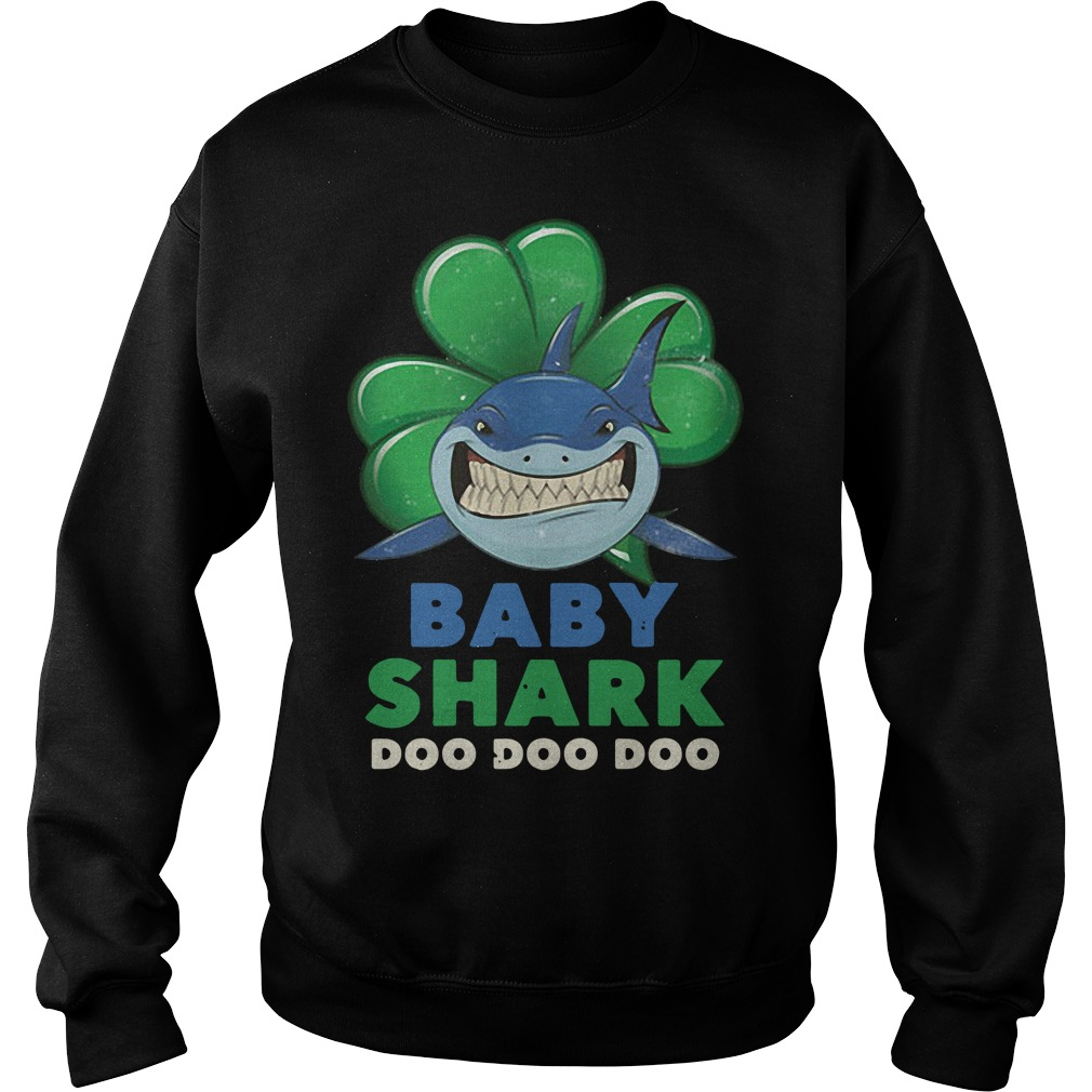 St Patrick's day baby shark Sweater