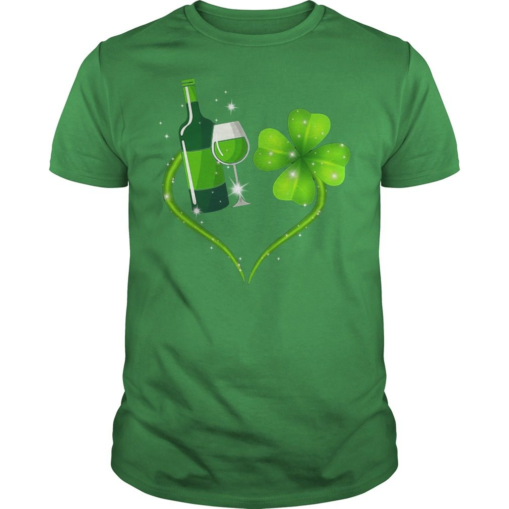 St Patrick's day love Shenanigans and wine shirt