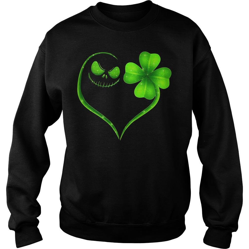St Patrick's day Skeleton love Shamrock Sweater