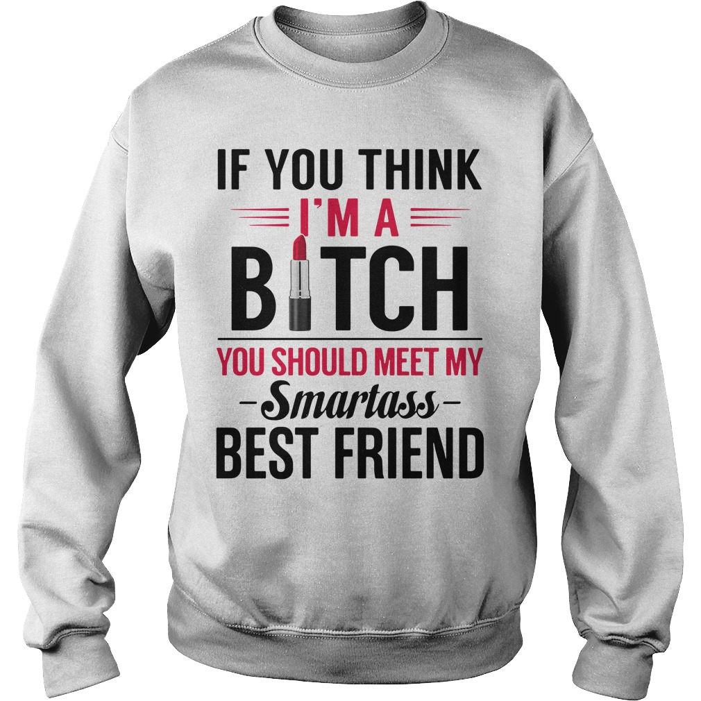 If you think I'm a bitch you should meet my Smartass best friend Sweater