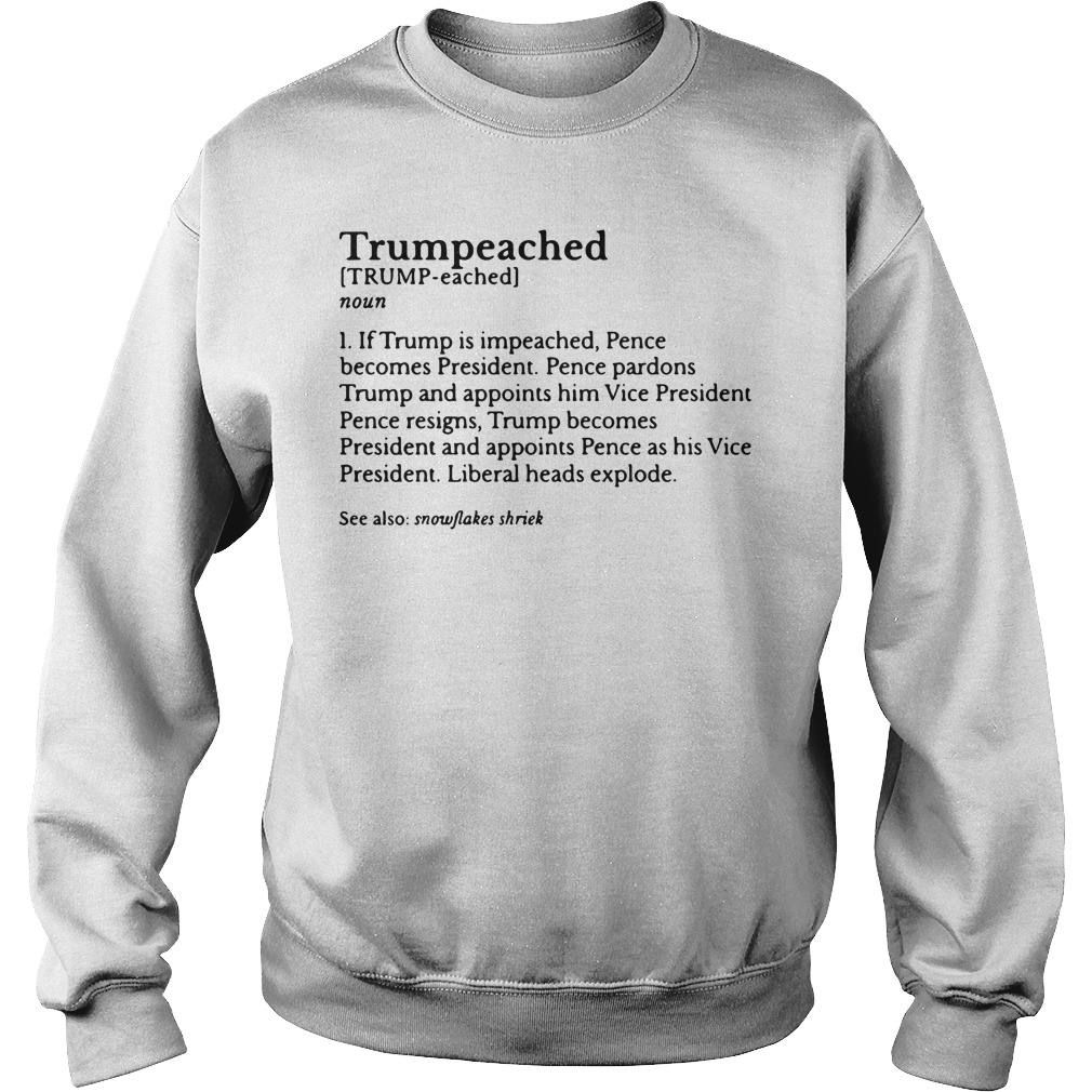 Trumpeached definition meaning Sweater