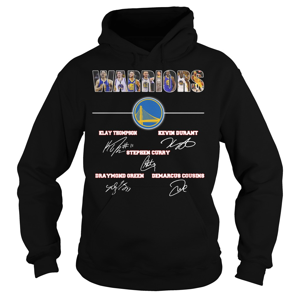 Warriors signature Klay Thompson Kevin Durant Stephen Curry Hoodie