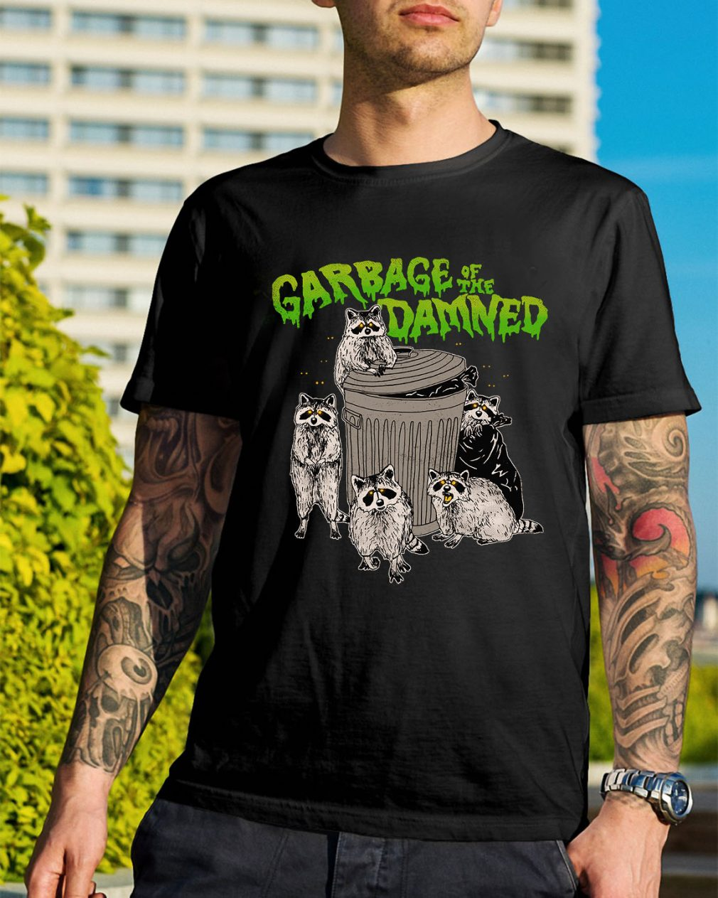 Woot garbage of the damned shirt