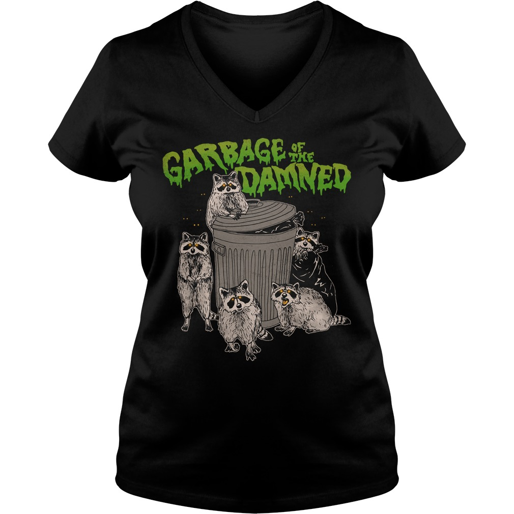 Woot garbage of the damned V-neck T-shirt