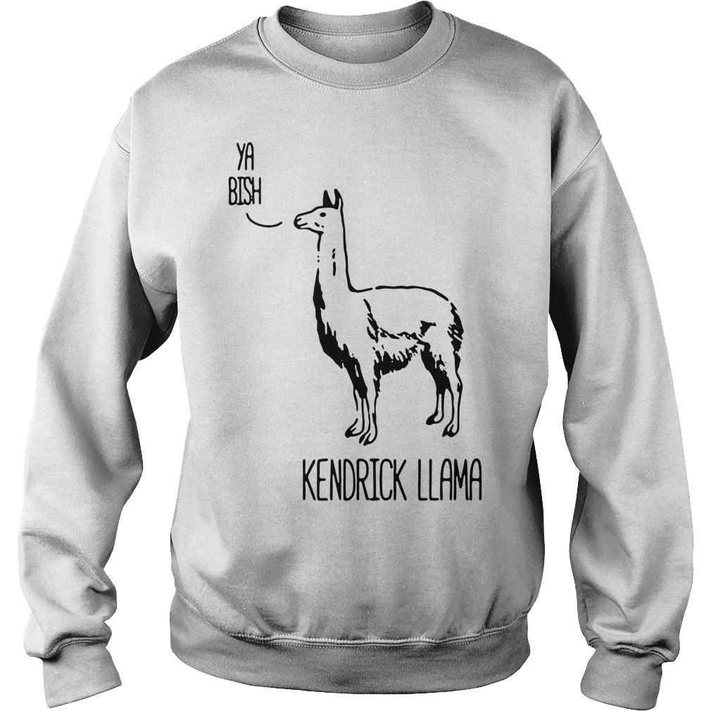 Ya Bish Kendrick llama Sweater