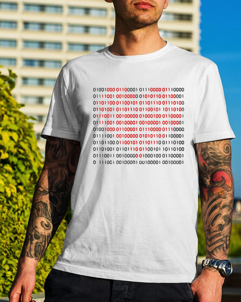 01001000 01100001 01110000 01110000 01111001 heart shirt