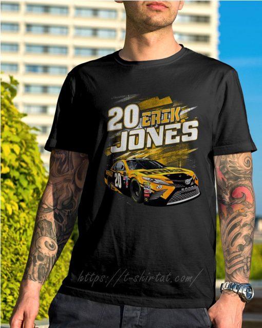 20 Erik Jones Black Dewalt power car shirt