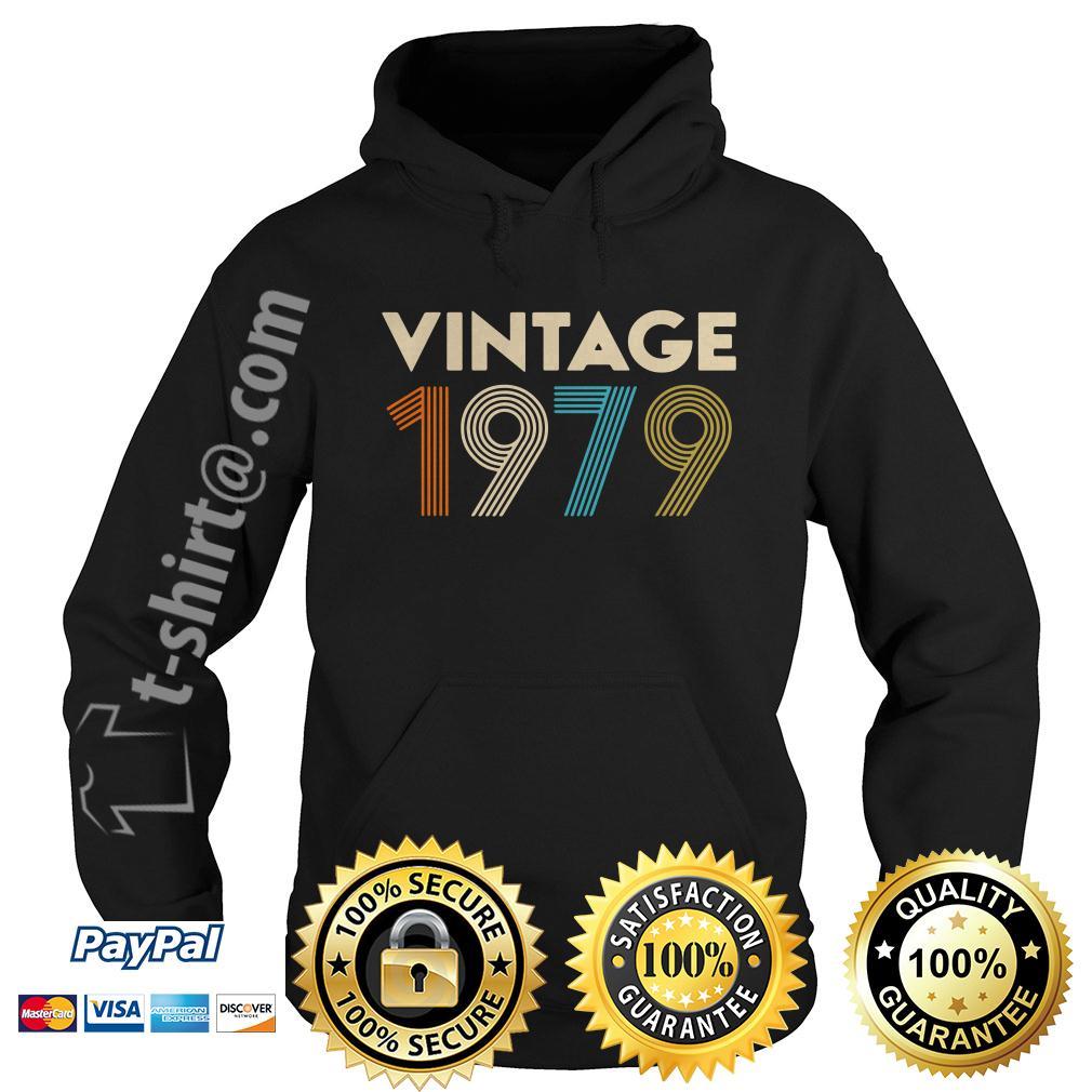 40th birthday vintage 1979 Hoodie