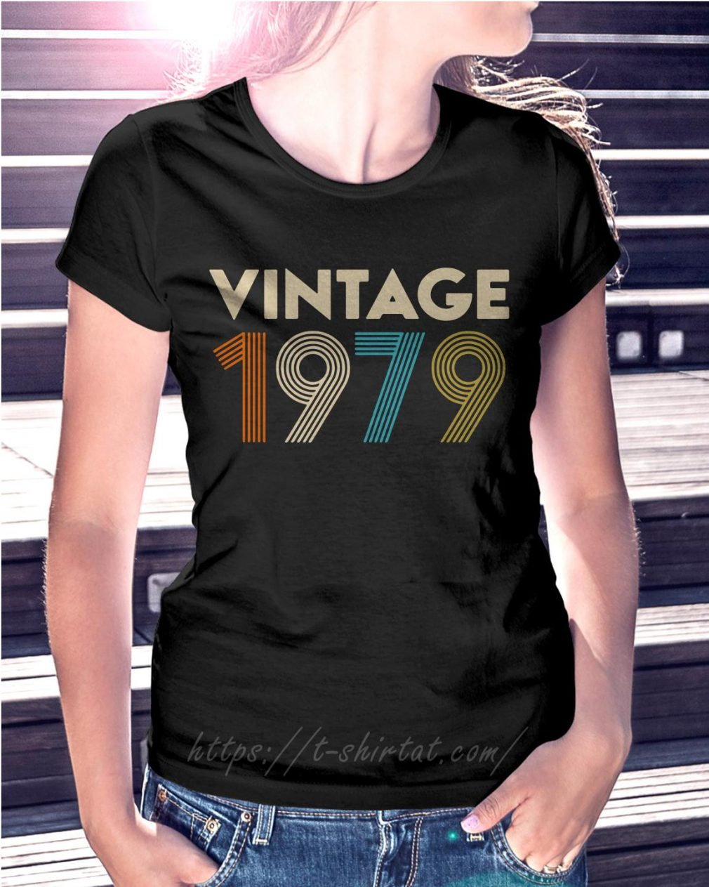 40th birthday vintage 1979 Ladies Tee