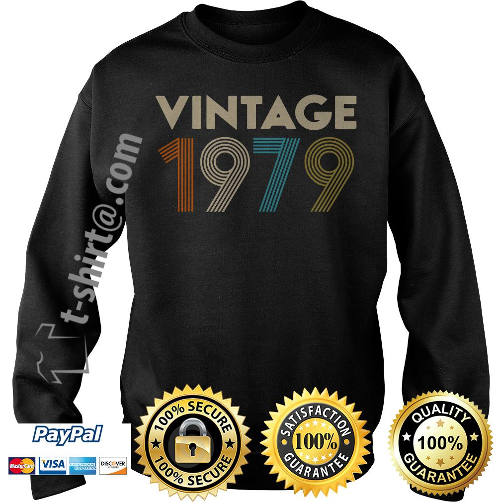 40th birthday vintage 1979 Sweater
