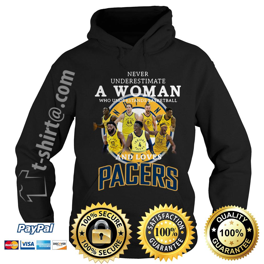 A woman who understands basketball and loves Pacers Hoodie