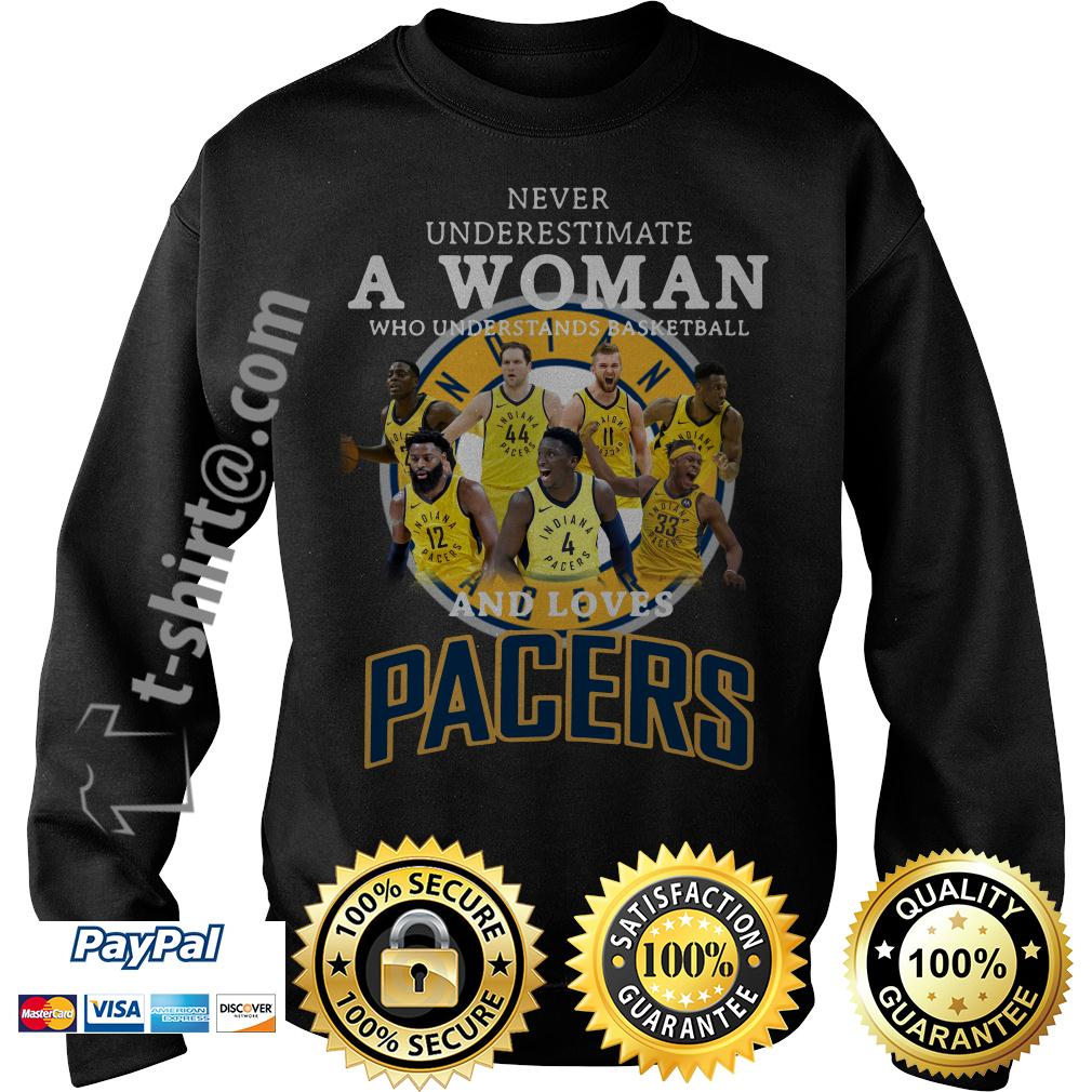 A woman who understands basketball and loves Pacers Sweater