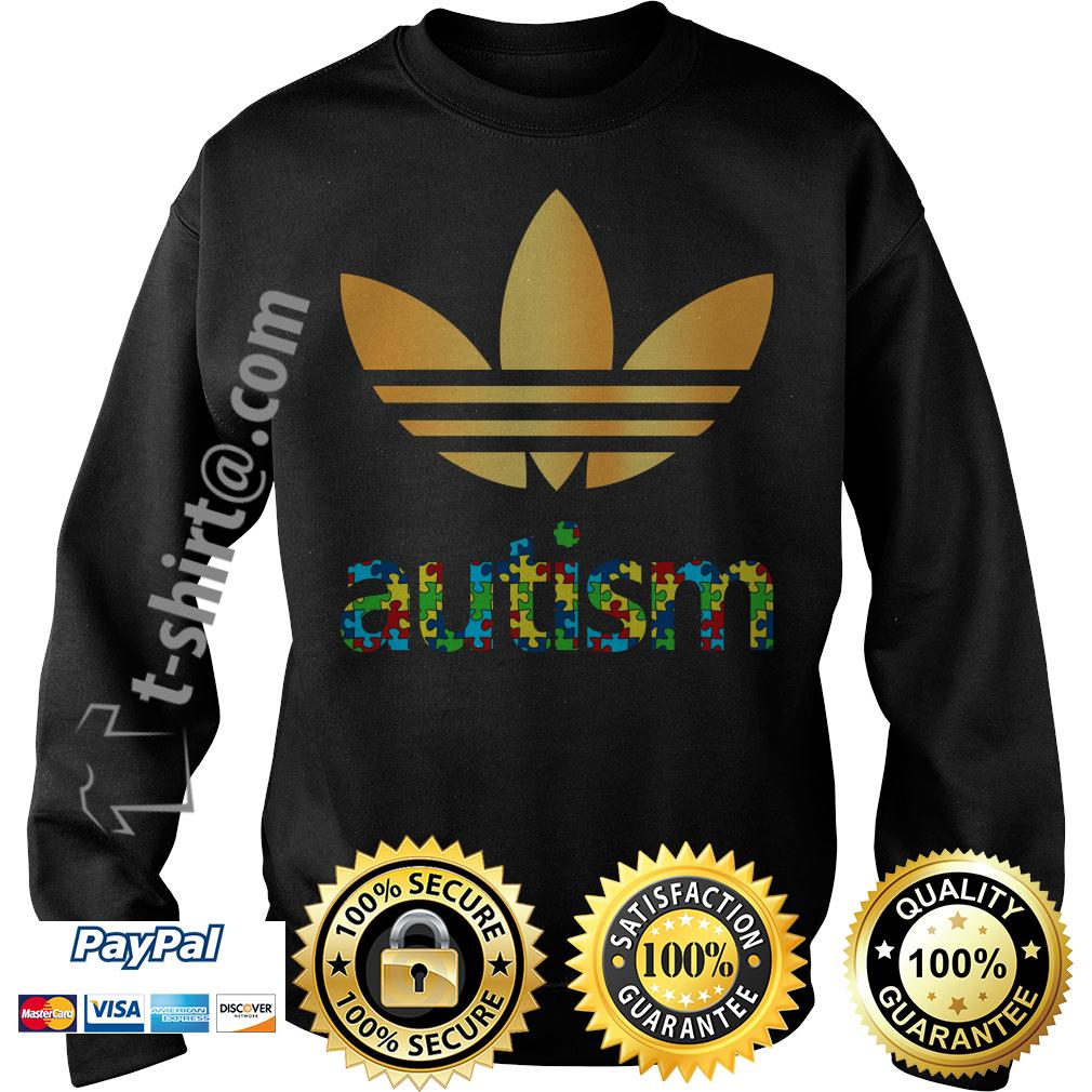 Adidas autism awareness Sweater