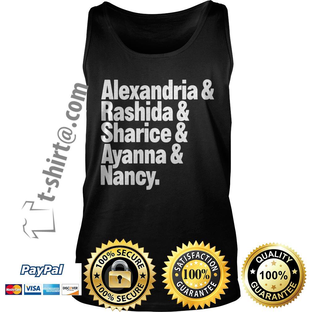 Alexandria and Rashida and Sharice and Ayanna and Nancy Tank top