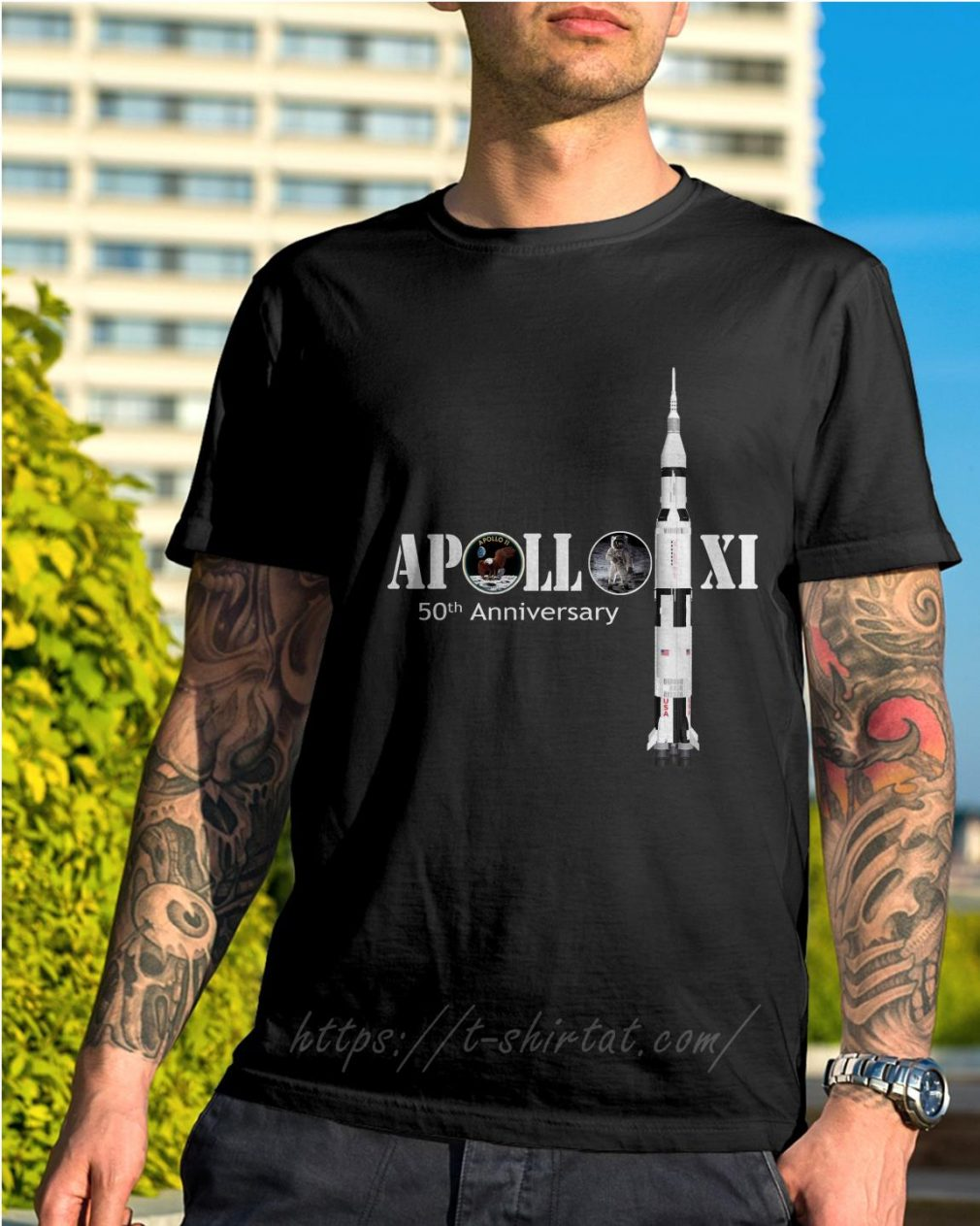 Apollo XI 50th Anniversary shirt
