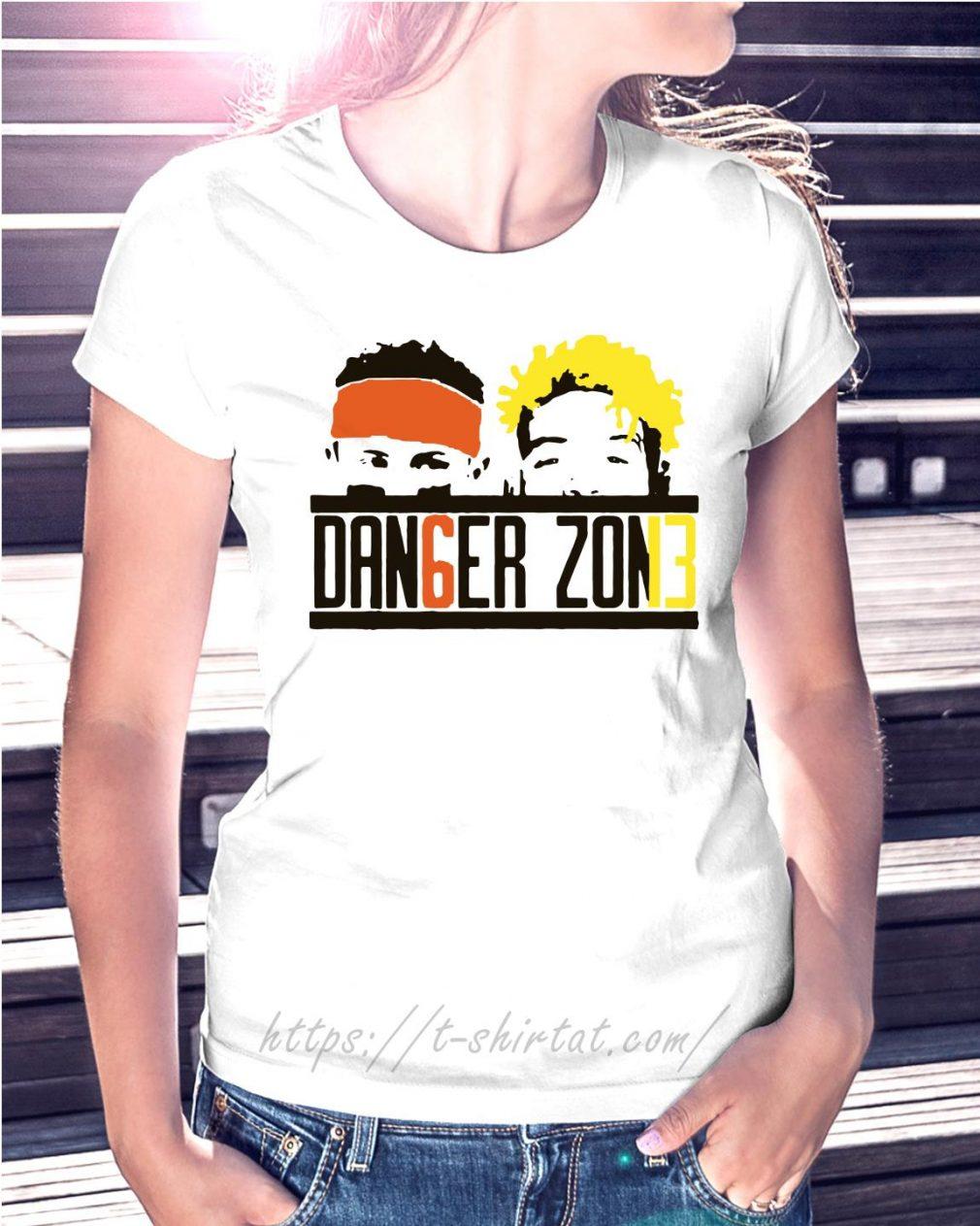 Baker Mayfield - Odell Beckham Dan6er Zon13 Ladies tee