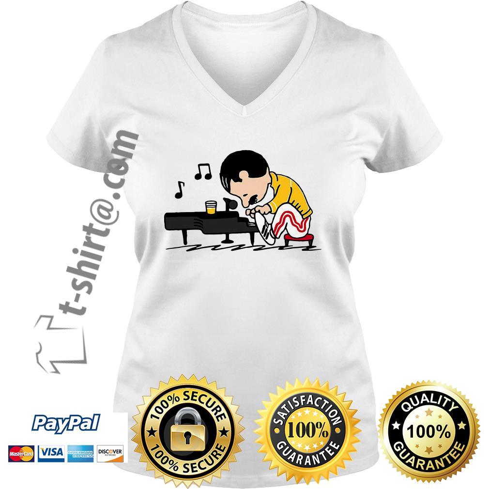 Baker Mayfield - Odell Beckham Dan6er Zon13 V-neck t-shirt