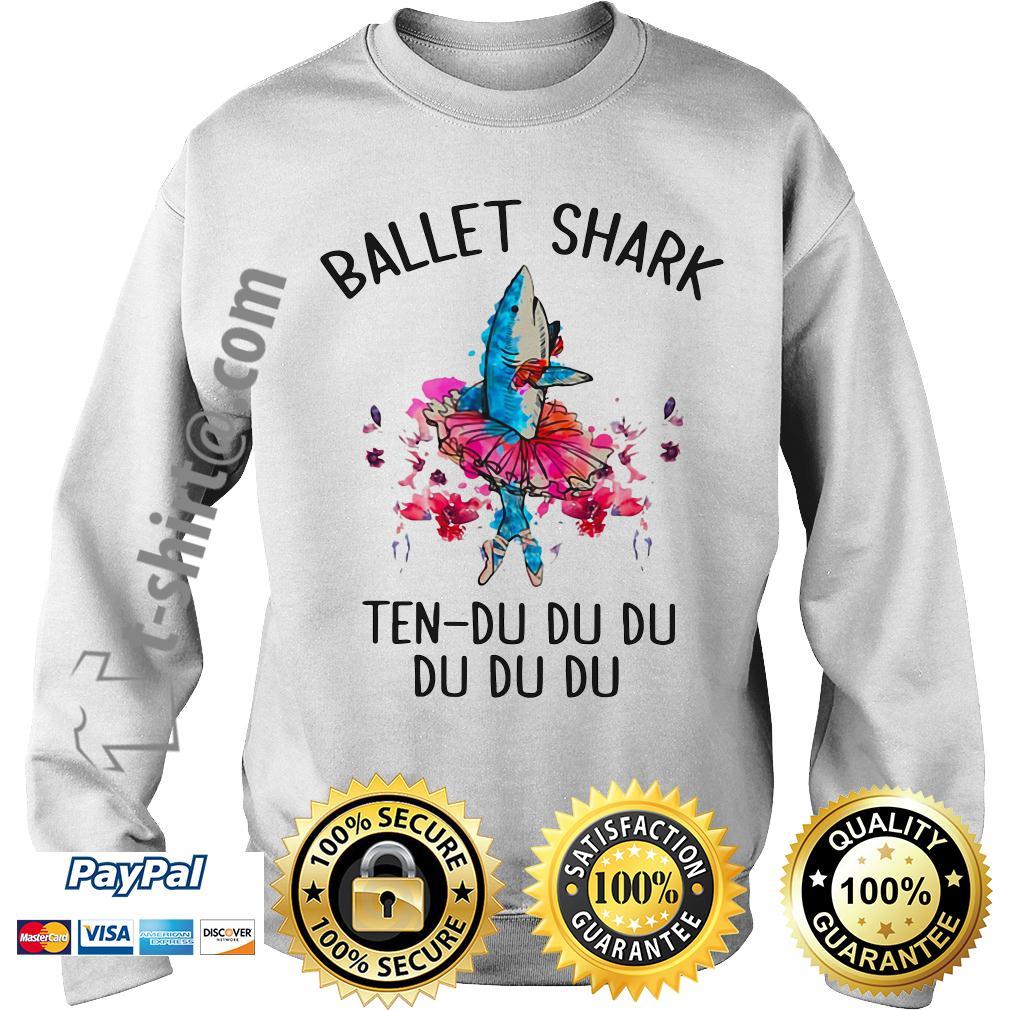 Ballet shark ten-du du du du du du Sweater