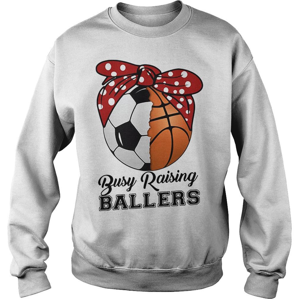 Baseball busy raising ballers Sweater