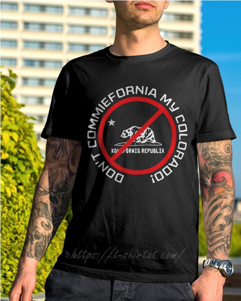 Bear Don't commiefornia my colorado republik shirt
