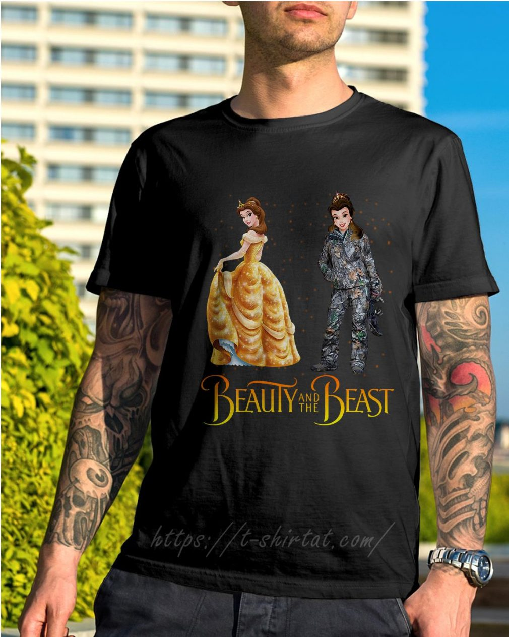 Bella Beauty and the Beast astronaut shirt