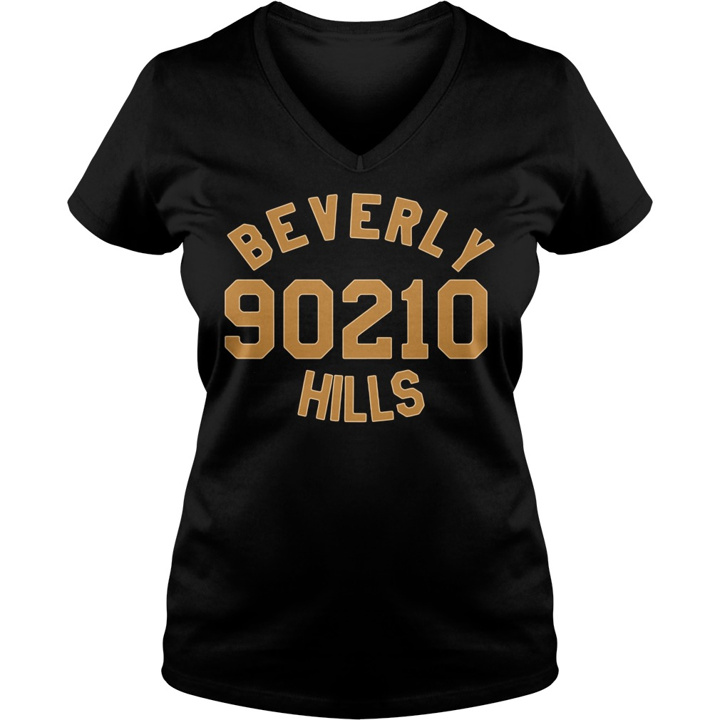 Beverly 90210 hills V-neck T-shirt